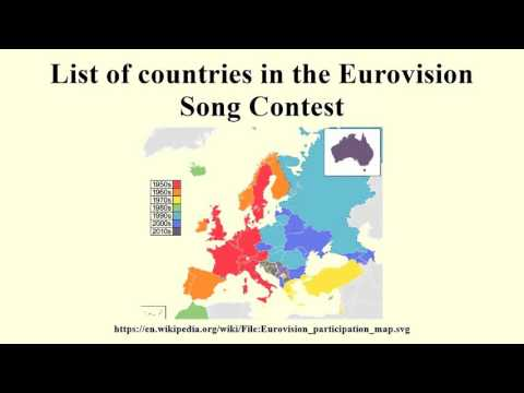 eurovision song contest winner list