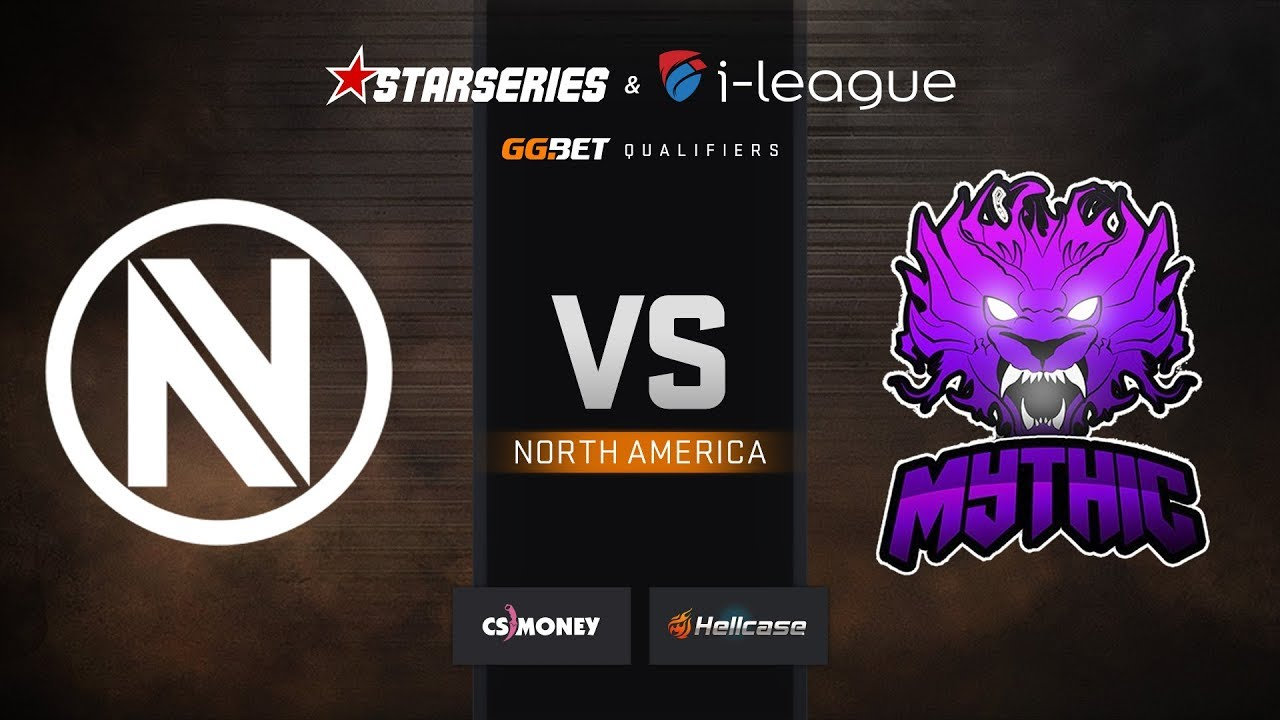 [EN] Envy vs Mythic, map 2 train, StarSeries & i-League S7 GG.Bet NA Qualifier