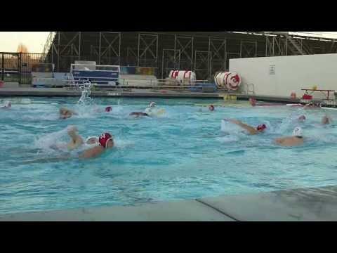 GGHS Water Polo Alumni vs Varsity 12 28 2013