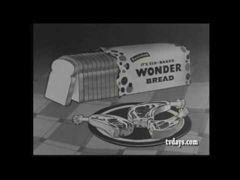WONDER BREAD CLASSIC COMMERCIALS TV SHOWS CARTOONS on DVDS at TVDAYS.com