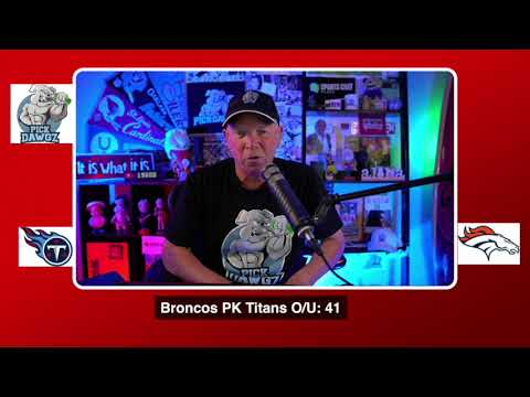 Denver Broncos vs Tennessee Titans NFL Pick and Prediction 9/14/20 Monday Night Football Pick
