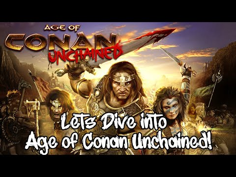 Lets Dive Into Age Of Conan UNCHAINED!