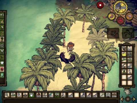 Don't Starve Shipwrecked IOS 1000days