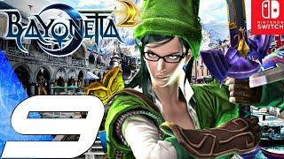 BAYONETTA 2 - Gameplay Walkthrough Part 9 - Vigrid City (Remastered) Switch