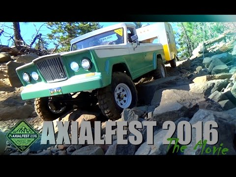 ESP RC | AXIALFEST 2016 THE MOVIE | CISCO GROVE CALIFORNIA