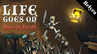 New Nintendo Switch Indie Game- Life Goes On: Done to Death- First Look Live Stream