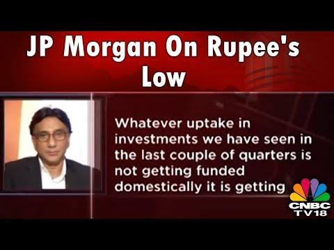 JP Morgan: Internal & External Factors Contributing To Rupee Fall | Halftime Report | CNBC TV18 Mp3