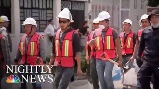 Everyday Citizens Lend A Hand In Mexico City After Earthquake | NBC Nightly News