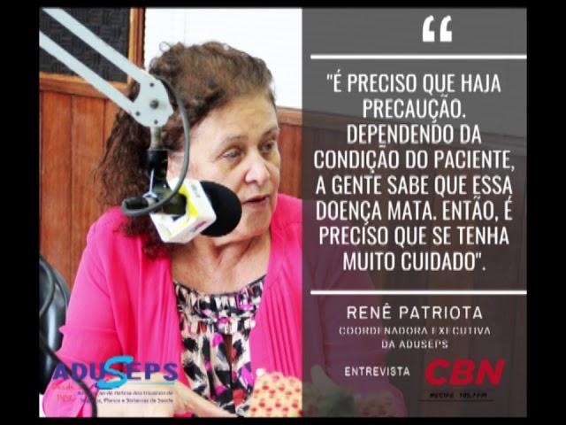 Renê Patriota pede cautela na retomada de serviços no Estado