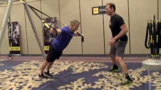 TRX Workout with Inventor Randy Hetrick