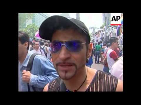 Mexico City Hosts First Gay Parade In Latin America