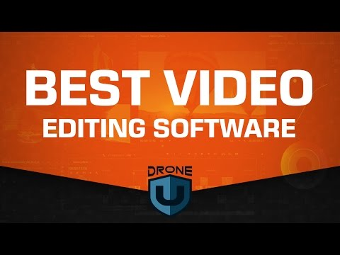 What do you think is the best video editing software? Why? - Ask Drone U