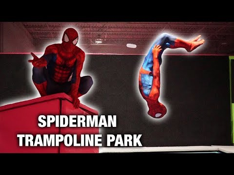 Spiderman VS Trampoline and Parkour In Real Life