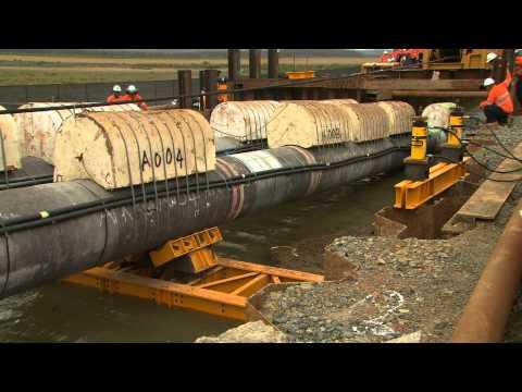 QGC completes Australia's longest underwater 'pipe pull'