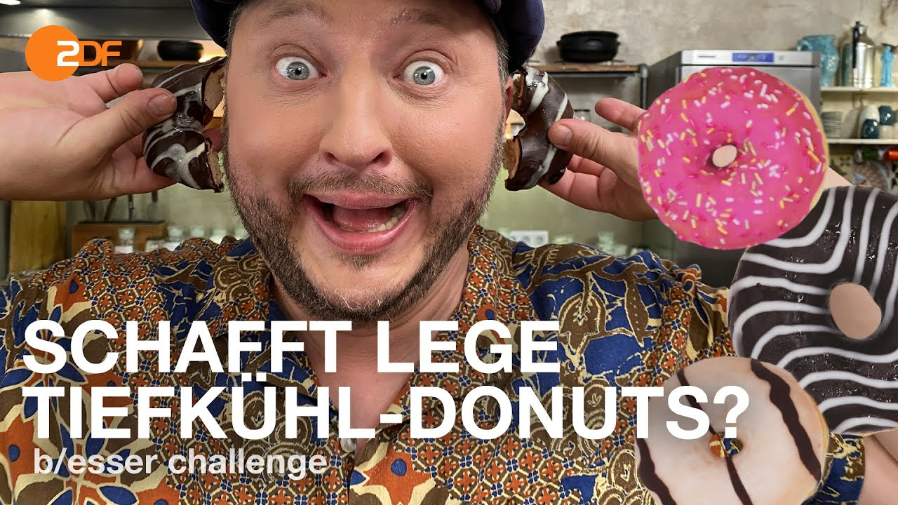 Download Donut Drama: Sebi soll süße Tiefkühl-Donuts selber machen