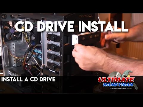 Install a CD drive
