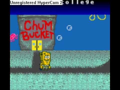 spongebob gameboy color