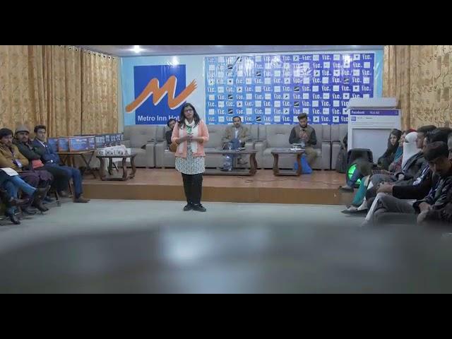 Youth leadventure camp Mushkpuri Top Kpk Arfa Farooqi