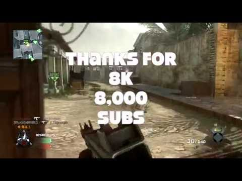 Call Of Duty Black Ops Thanks For 8K 8,000 Subs