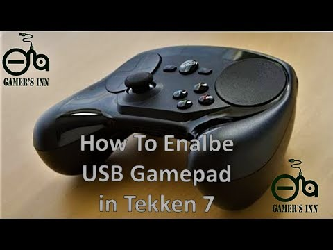 How To Enable USB Gamepad / Any Controller in Tekken 7