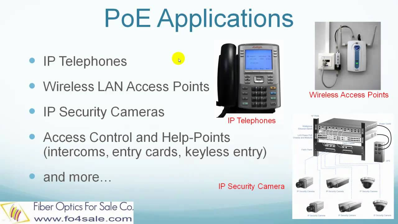 What Is Power Over Ethernet Poe Youtube