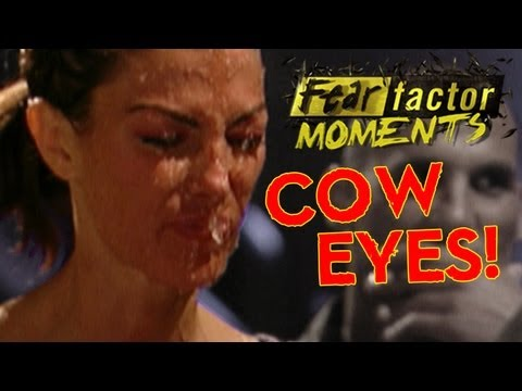 Fear Factor Moments | Bobbing for Cow Eyes