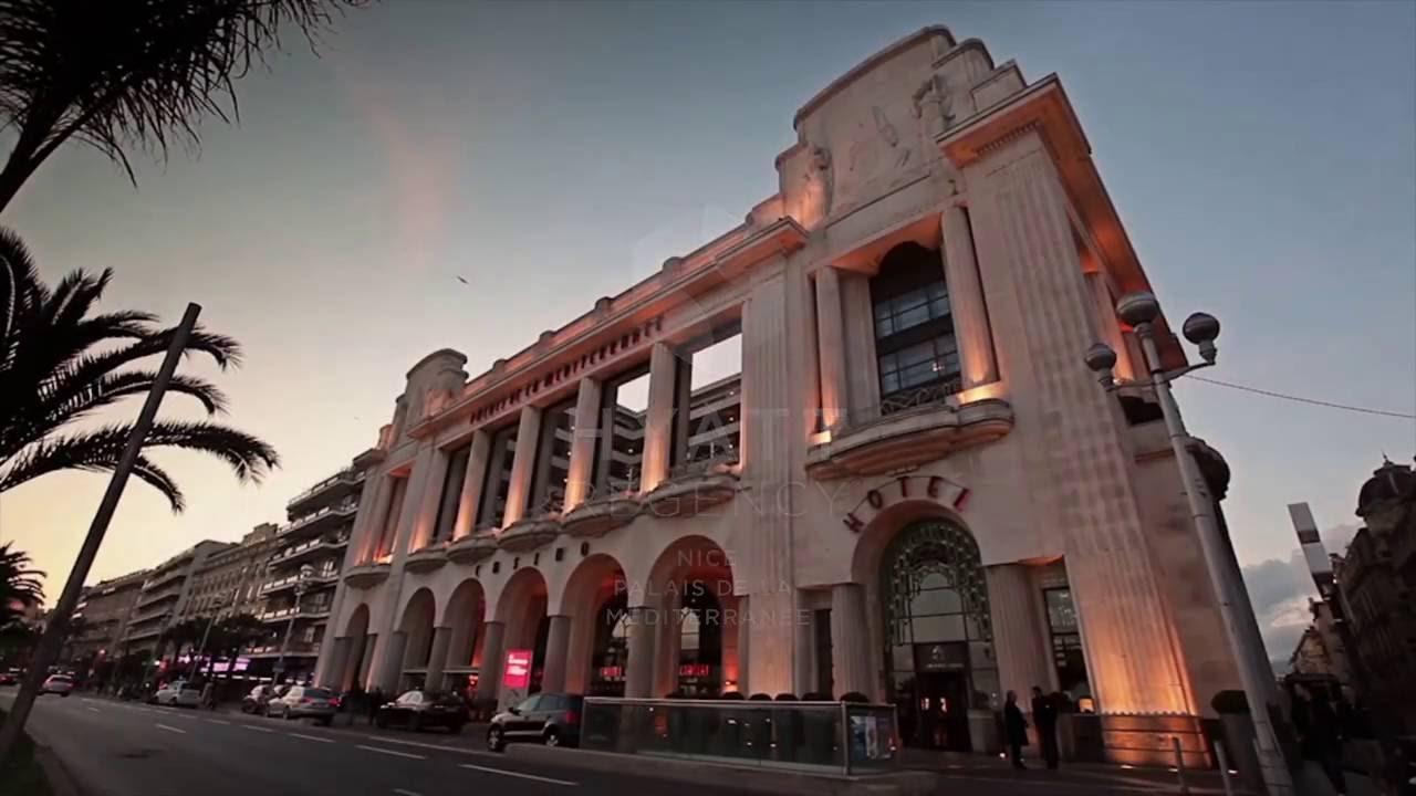 Souvent Experience Hyatt Regency Nice Palais de la Méditerranée - YouTube KY62