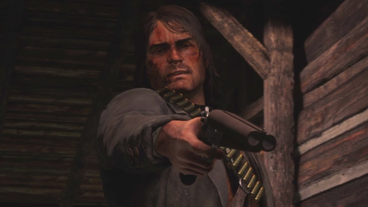 Playing As Original John Marston In Epilogue Red Dead Redemption 2 Mod