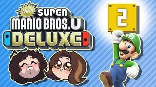 Super Mario Bros U Deluxe: Boom Boom - PART 2 - Game Grumps