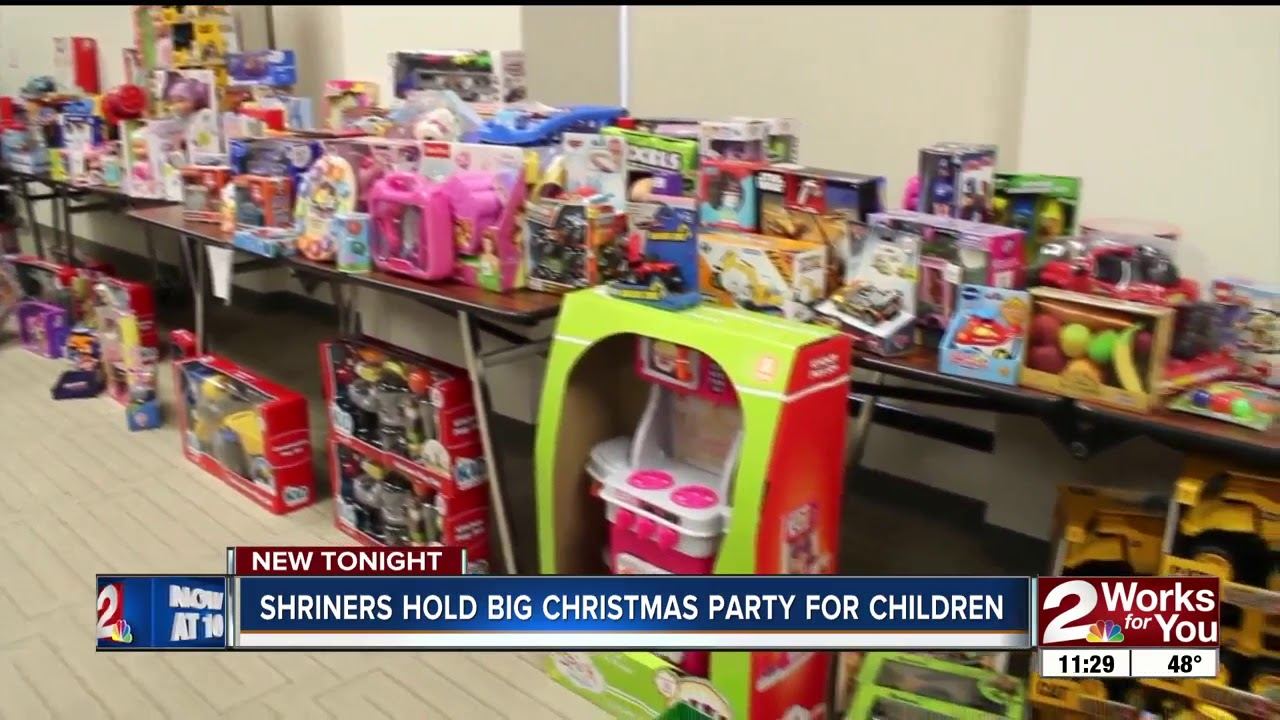 Every Child Who Spent Time In Shriners Hospital Received Christmas