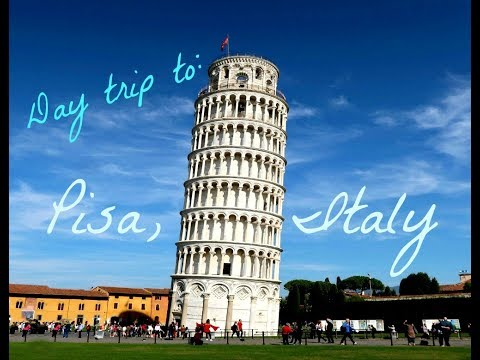 Pisa, Italy Day Trip from Florence! Travel Tips & Guide