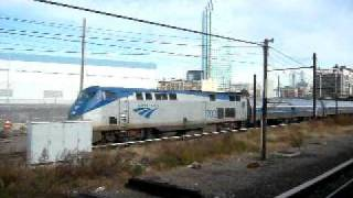 Amtrak 233 ducks into the East River tunnel