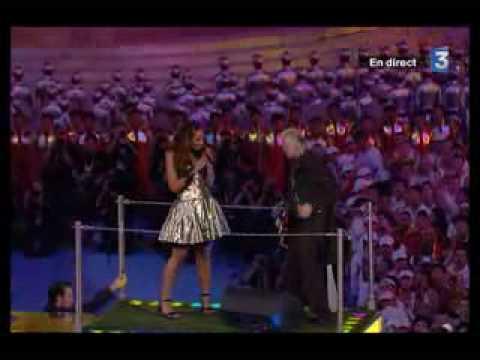 Leona Lewis & Jimmy Page-Whola Lotta Love (Beijing 2008)