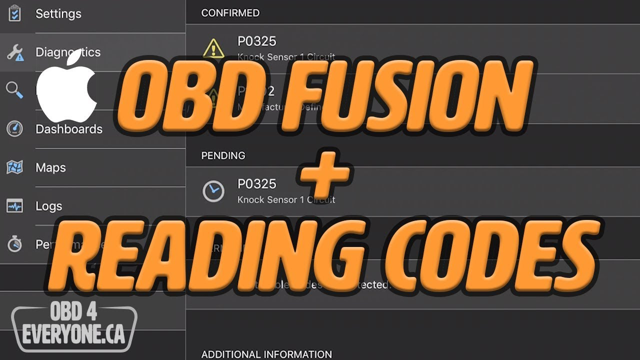 Reading Engine Trouble Codes with OBD Fusion for iOS: OBD4Everyone Ep  10