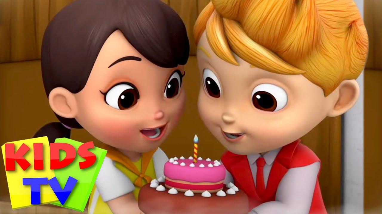 Lagu selamat ulang tahun | Kartun pendidikan anak | Kids Tv Indonesia | Video animasi | Prasekolah