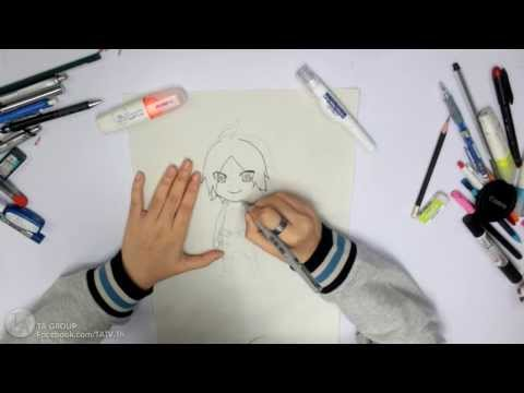 Tutorials : วิธีวาดรูปตัวการ์ตูนแบบ SD