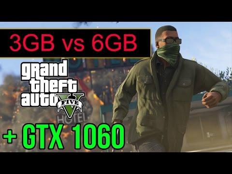 GTX 1060 6gb vs GTX 1060 3gb GTA 5 TEST FPS - 1st Vga Mining