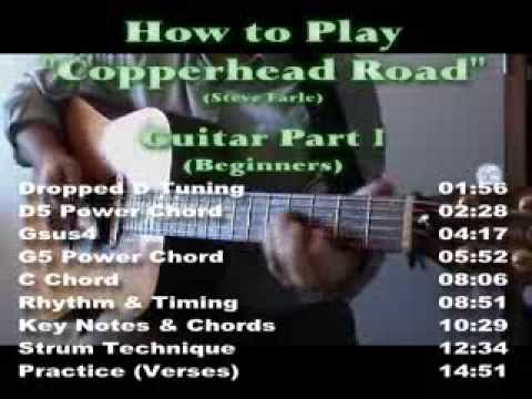 "How to Play ""COPPERHEAD ROAD"" (Steve Earle) - Part 1"