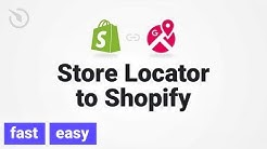 How to add Store Locator app to Shopify (Shopify app | 2019)