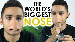 World's Biggest Nose