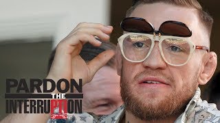 Frank Isola Thought Conor McGregor's Training Video Was A Spoof | Pardon The Interruption | ESPN