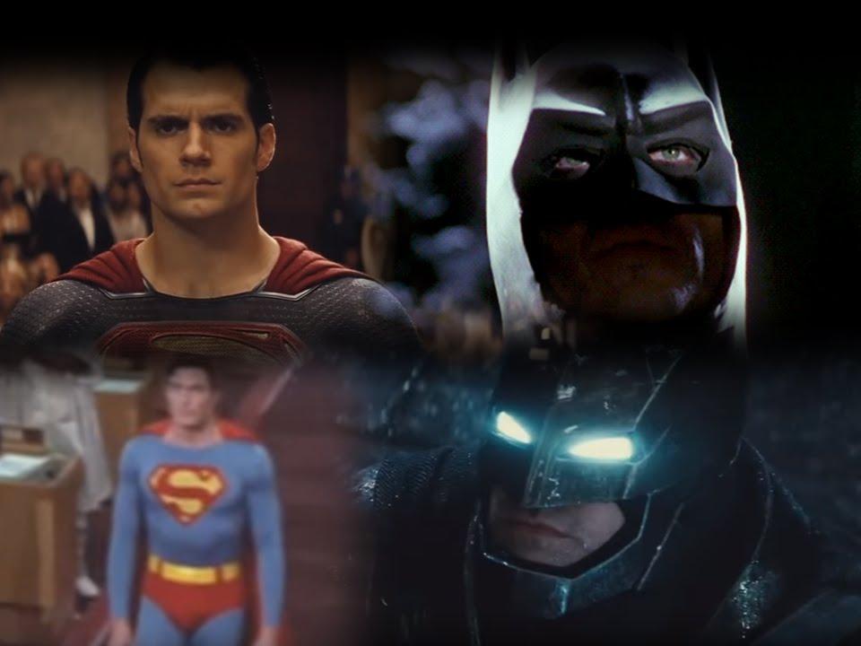 Batman V Superman FAN-TRAILER (Keaton Vs. Reeve)