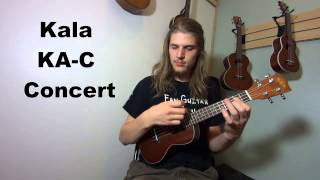 Kala Ukulele Comparison: KA-S KA-C KA-T sound samples