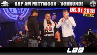 RAP AM MITTWOCH LEIPZIG: 06.01.18 Vorrunde feat. LBB, MC GEUNER uvm. (2/4)