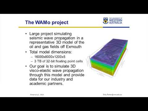 Optimising Seismic Wave Propagation Code for Large Scale Seismic Modelling   Toby Potter, Pelagos Co