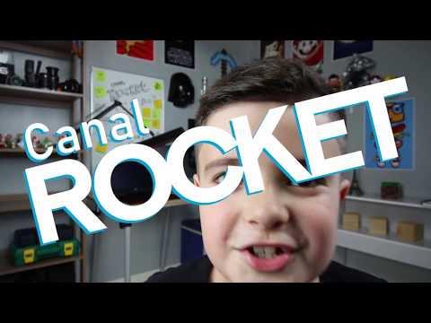 Primeiro vídeo do canal Rocket
