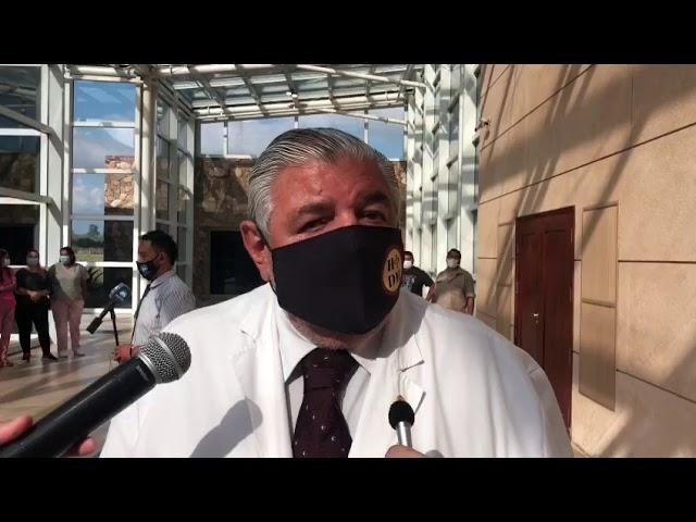 Esteban habla de las vacunas SPUNIK V en Salta