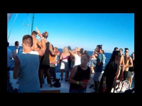 ZUER b2b FRANK MENDEZ Boat Party by Capadi Rebels © AllaboutibizaTV