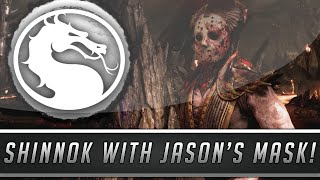 Mortal Kombat X: Shinnok Wearing Jason Voorhees