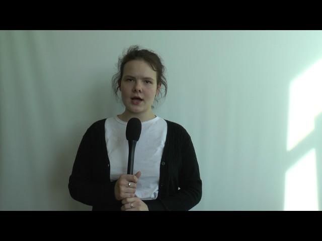 Изображение предпросмотра прочтения – ВикторияЗеленова читает произведение «Она сидела наполу…» Ф.И.Тютчева